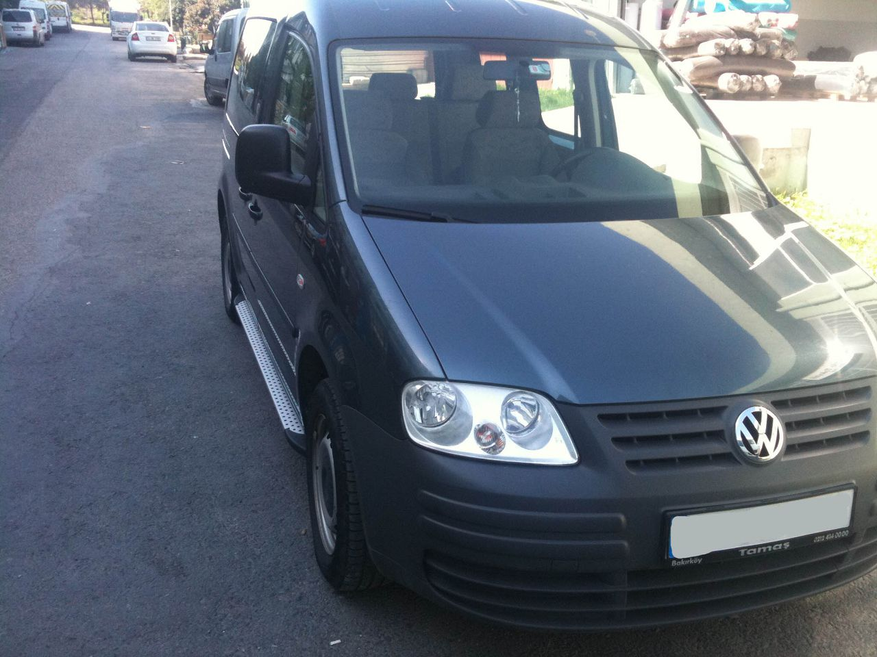 Пороги на Volkswagen Caddy 2004-2010 Сома фото