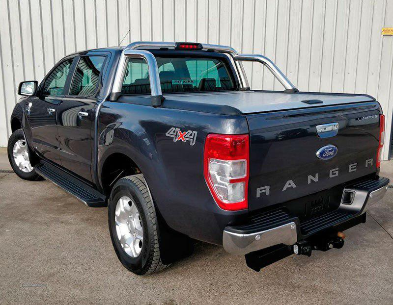Ролета на Ford Ranger 2013+ в комплектации Xl (Xlt) и Limited Mountain Top фото