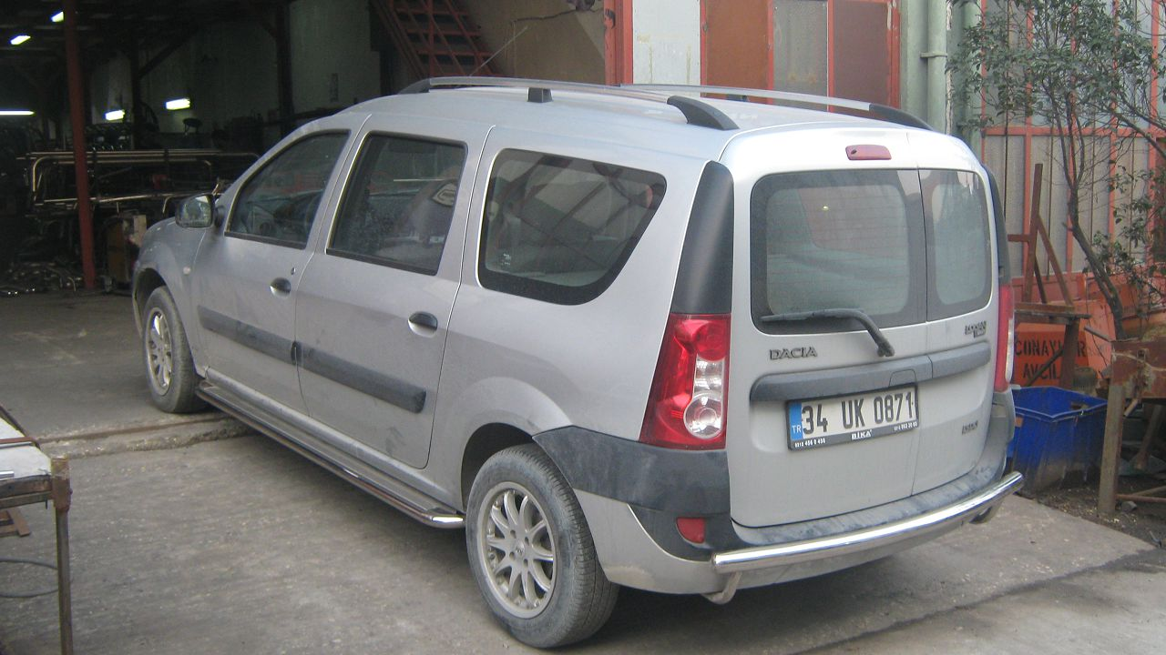 Рейлинги на Renault Logan MCV TAMSAN Crown фото
