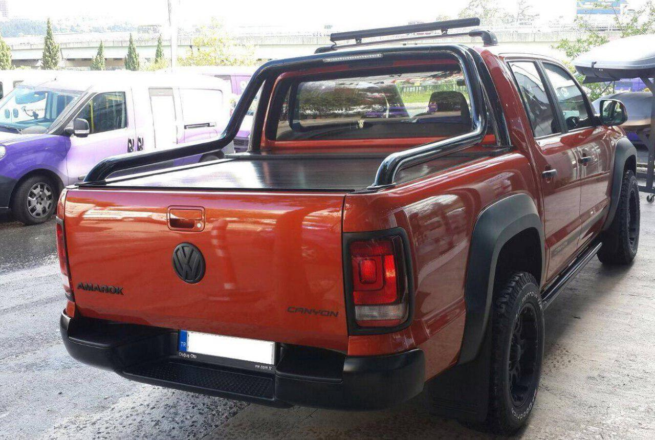 Ролета на Volkswagen Amarok 2010-2016 под Canyon Style Roll-Bar Arline фото